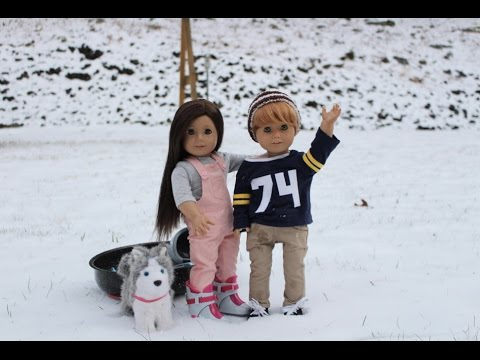 Jake and Delilah's Snow Day ~ A Mini AGSM