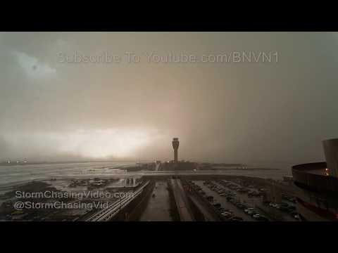 Massive Haboob & Severe Storm Ground Stop At Phoenix Sky Harbor 7/9/2018