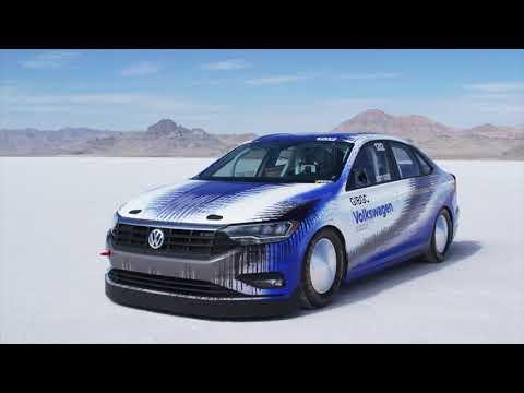 2019 Volkswagen Jetta Exterior Design in Bonneville