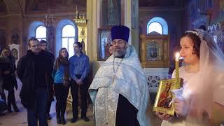 Венчание Алексея и Ангелины. Проповеди священников и поздравления