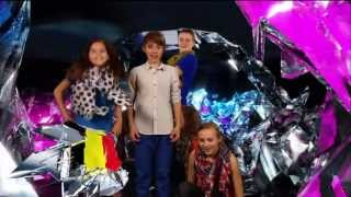 The Junior Eurovision song contest 2012 Belgium   Fabian singing Abracadabra  Live