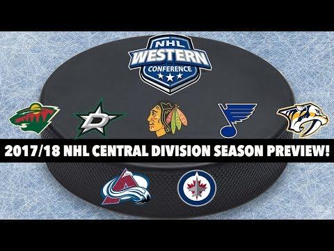 2017/18 NHL Central Division Season Preview!