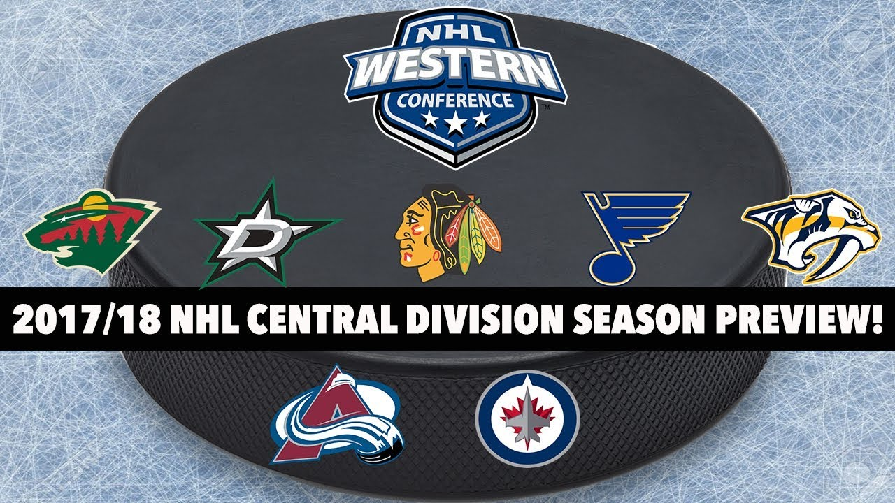 2017 18 NHL Central Division Season Preview! - YouTube 0852f422630
