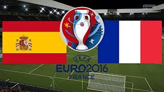 SPANIEN gegen FRANKREICH - EM 2016 FRANKREICH | VIERTELFINALE ◄ESP #07►