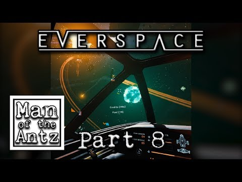 Trying to avoid conflict so here's the giant drone carrier | Everspace on Oculus Rift - Part 8