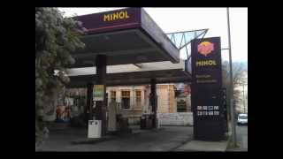 Die letzte MINOL Tankstelle in Deutschland ? Pirol Werbung Reklame Propaganda DDR Kult