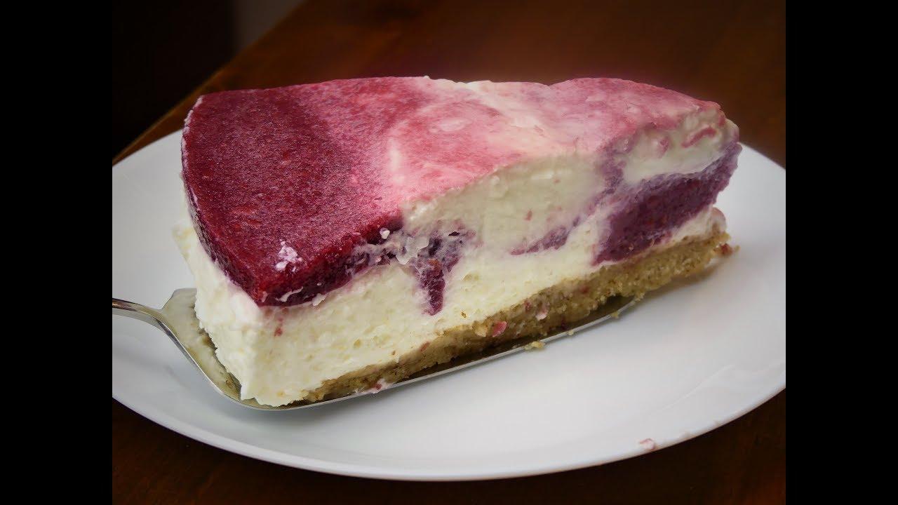 Joghurt Kirschtorte Wahnsinnig Einfach Sommertorte Kuchen Youtube