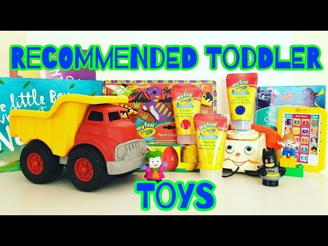Recommended Toddler Toys