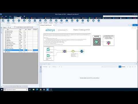 Alteryx weekly challenge week 125 - US Grand Prix Lap 1 - Data Prep Beginner Data Preparation
