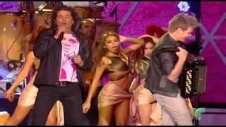 Carlos Vives & Michel Teló - Como Le Gusta A Tu Cuerpo @ Premios Billboard