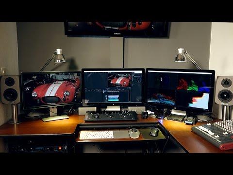 La estación de edición de vídeo 4k  - CineDigital.tv