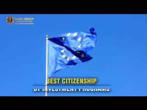 Best Citizenship & Residency By Investment