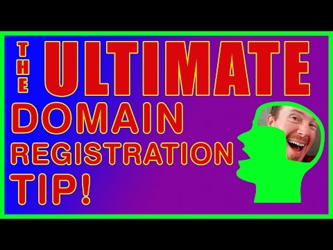The Ultimate Domain Registration Tip - A Hassle Free Brand Protecting Method
