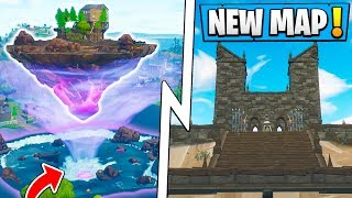 *ALL* Fortnite Season 6 Map Changes! | Floating Island, Secret Base, Haunted Mansion!