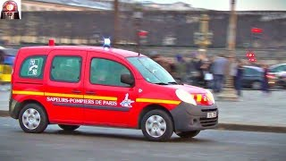 BSPP SPVL 379 // Paris Fire Car Responding Lights and Sirens