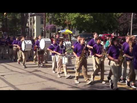 2016-2017 Sailorway Middle School Band in the Wooly Bear Parade