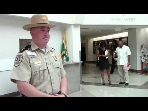 A day in the life of a Custom Protection Officer - Robert B. - YouTube
