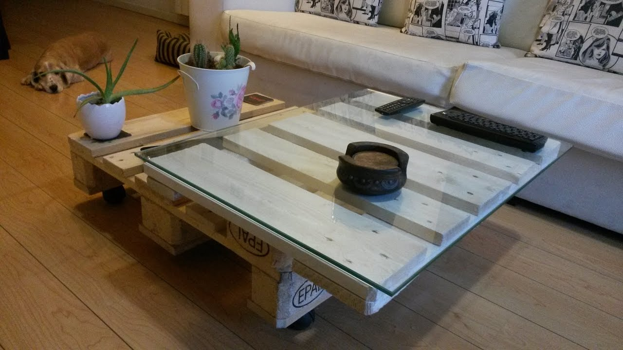hacer muebles facil con palets sencillo how to do a table with palet