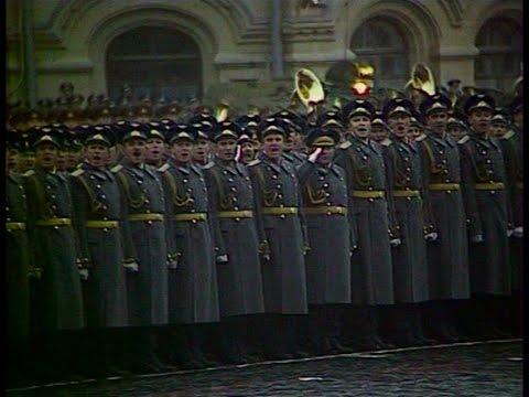 HD Soviet October Revolution Parade, 1981 Парад 7 Ноября