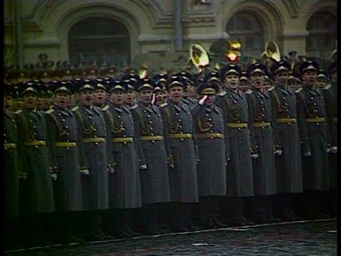 HD Soviet October Revolution Parade, 1981 Парад 7 Ноября