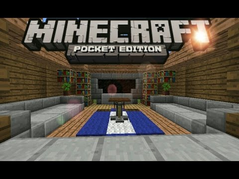 Minecraft PEhow To Make A Living Room