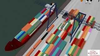 Схема работы контейнерных терминалов за рубежом(Купить контейнер 20 футов http://gknp.ru/kontejnery/kontejnery-20-t на контейнерном терминале., 2015-11-24T04:12:53.000Z)