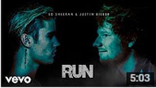 Download lagu Justin Bieber ft Ed Sheeran Run New song 2017 MP3