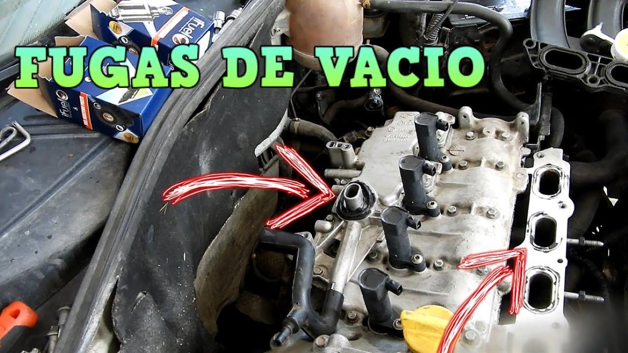 Reparando fugas de vacío Nissan Platina Renault Clio | Omar VW