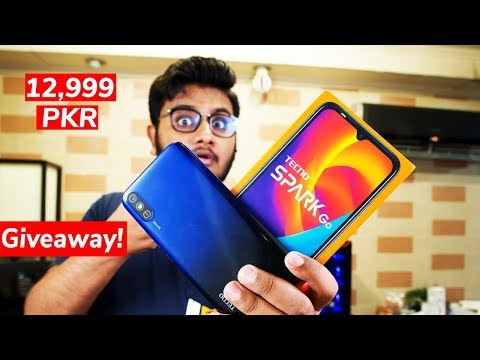 Tecno Spark GO Unboxing | Giveaway System On Hai !