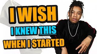 4 Things I wish I knew when I started rapping