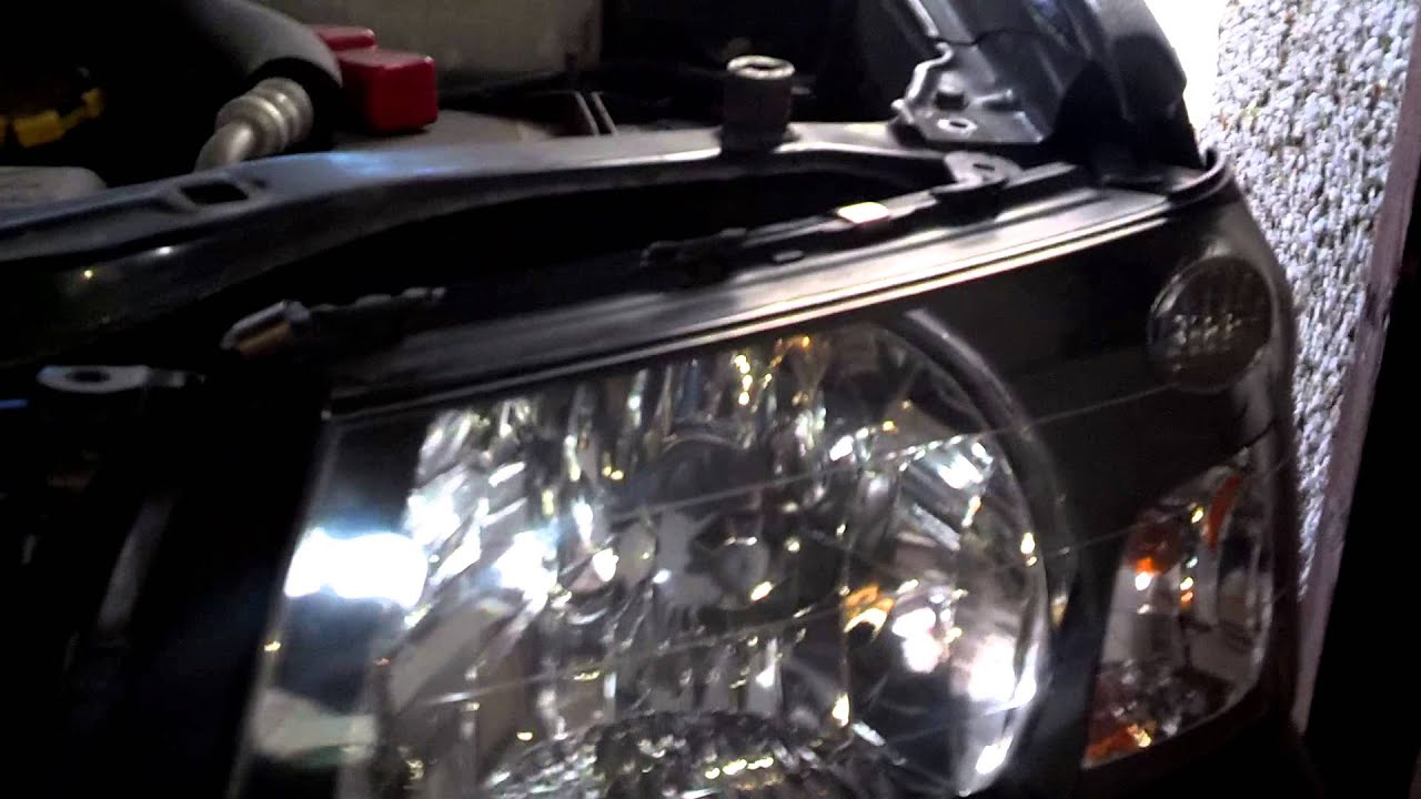 Subaru Forester Headlight Removal