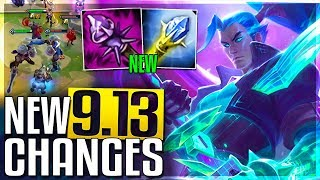 AP Item REWORKS, New Mode & Massive Changes Coming Soon In Patch 9.13 (Buffs & Nerfs) - LoL