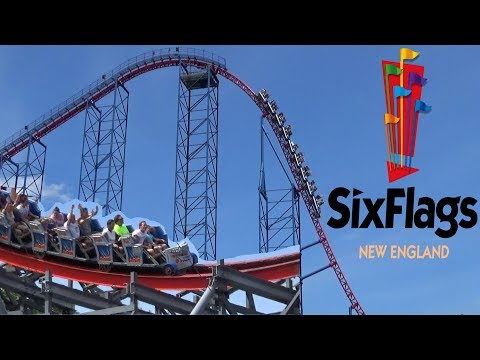 Six Flags New England 2017 Tour & Review with The Legend