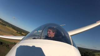 High speed glider low pass with ASK-21 sailplane