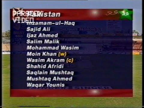 MATCH HIGHLIGHTS : Pakistan 51/7 & still WON the Match - Zimbabwe Vs Pakistan 1997