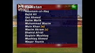 vuclip MATCH HIGHLIGHTS : Pakistan 51/7 & still WON the Match - Zimbabwe Vs Pakistan 1997
