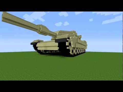 Thumbnail: Minecraft M1A1 Abrams tank 10:1 scale v1