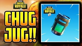*NEW* LEGENDARY CHUG JUG IN FORNTITE BATTLE ROYALE! NEW FORTNITE PATCH V. 2.3 NOTES