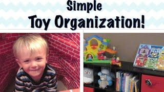 Toy Organization Ideas | Favorite Kids' Space Collab!