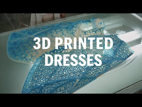 Designing 3D Printed Dresses | FASHION AS DESIGN