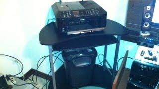 Mainstays Computer Cart/Desk (Model: 9201696W) Review