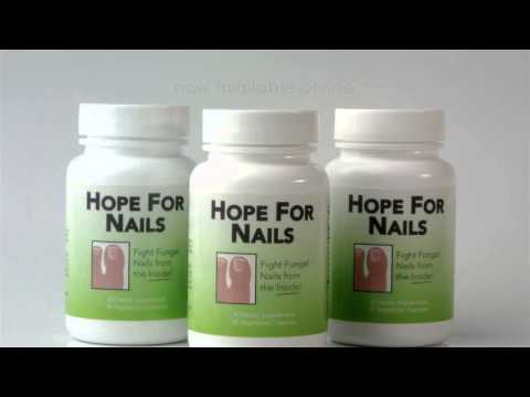 Hope For Nails All Natural Toenail Fungus Relief Supplement