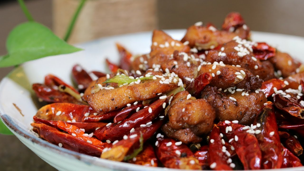 Authentic Szechuan Chicken Recipe