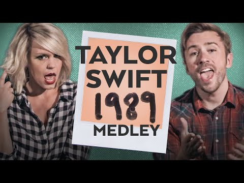 The Ultimate Taylor Swift 1989 Medley - Peter Hollens Feat. Evynne Hollens