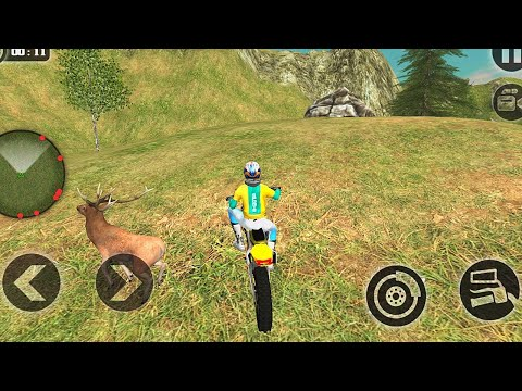 Offroad Dirt Bike Uphill Offroad Motorbike Rider Android iOS Gameplay