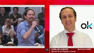 CARLOS CUESTA:Iglesias, Monedero y Errejón se repartían 200.000 € al año en dinero chavista