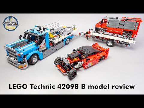 LEGO Technic 42098 B Model Speed Build And Detailed Review