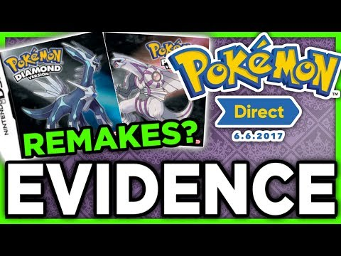 DIAMOND & PEARL REMAKES?! ALL THE EVIDENCE! - Pokemon Direct 2017 Discussion/Podcast