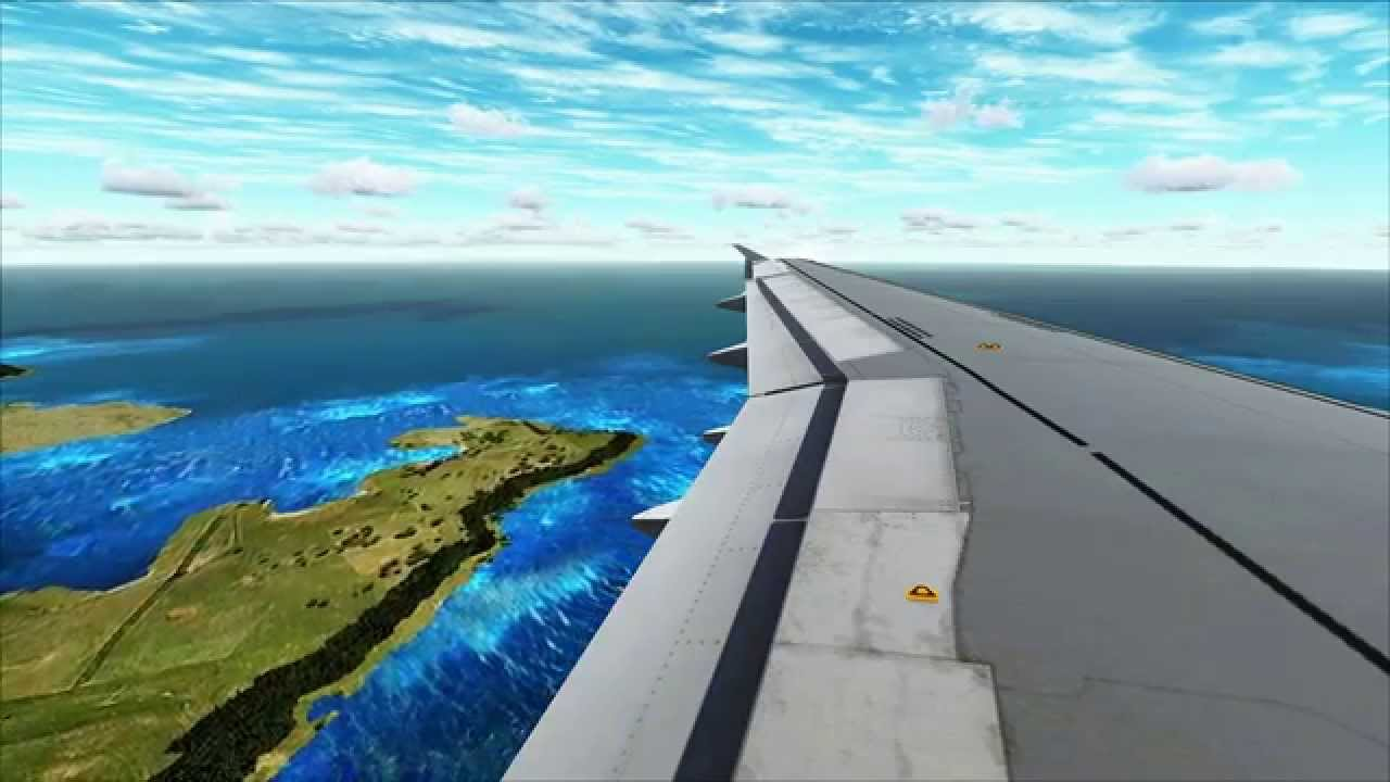 FSX | Airmalta A320 landing in LMML with new Livery