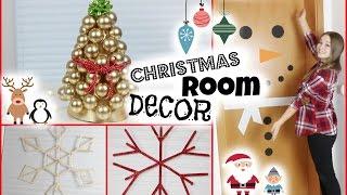DIY CHRISTMAS ROOM DECOR + VERLOSUNG   #beautxmas mit msfashionandcreative